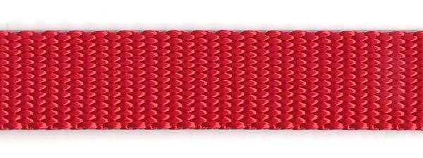 Heavy Nylon Web - 3/4 inch - Red