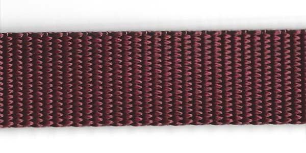 Heavy Nylon Web - 1 inch - Burgundy