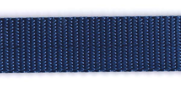 Heavy Nylon Web - 1 inch - Navy