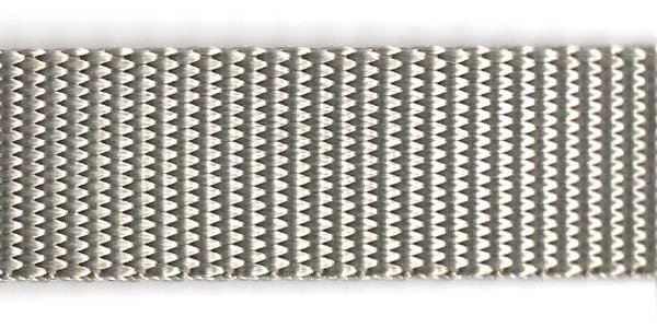 Heavy Nylon Web - 1 inch - Grey