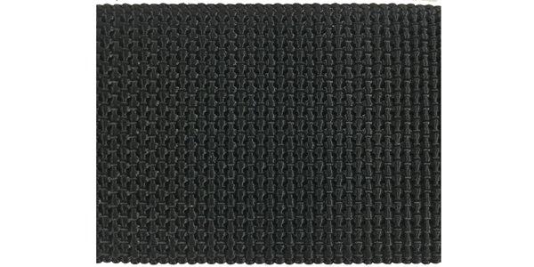 Heavy Stiff Nylon Web - 2 inch - Black