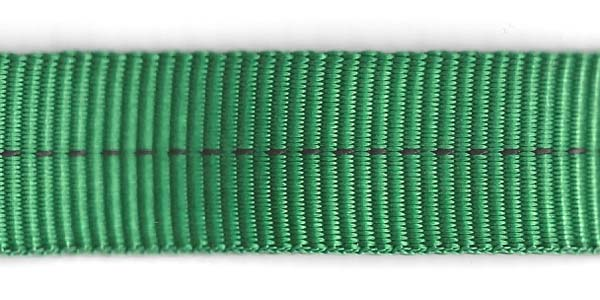 Tubular Nylon Web - 1 inch - Forest