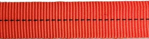 Tubular Nylon Web - 1 inch - Neon Orange