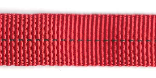 Tubular Nylon Web - 1 inch - Red