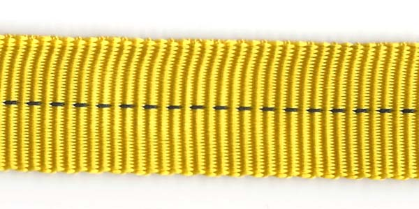 Tubular Nylon Web - 1 inch - Yellow