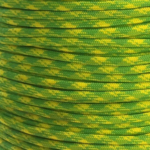 5/32 inch - Nylon ParaCord - Day Glow