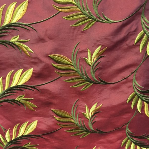 Plain Taffeta - Red Palm
