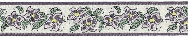 Floral Dream - 7/8 inch - Mauve