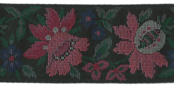 Floral Tapestry - 2 inch - Rose
