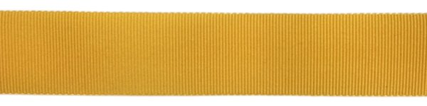 Nylon Grosgrain Ribbon - 3/4 inch - Gold