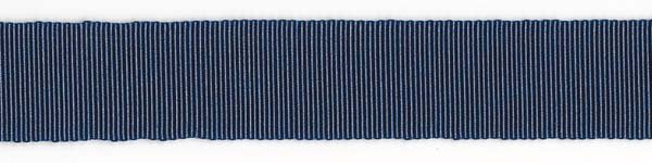 Nylon Grosgrain Ribbon - 3/4 inch - Navy