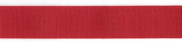 Nylon Grosgrain Ribbon -1 1/2 inch - Red