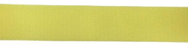 Nylon Grosgrain Ribbon - 3/4 inch - Fluorescent Yellow