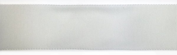 Nylon Grosgrain Ribbon - 1 inch - White
