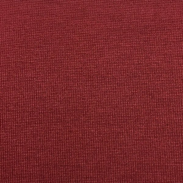 Merino Wool Rib - Red