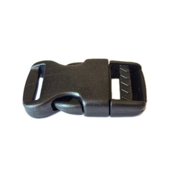 Side Release Buckle - 5/8 inch - Black