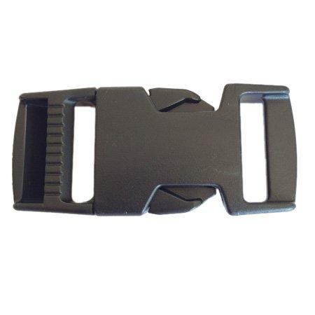Fastex Side Release Buckle - 1 inch - Black