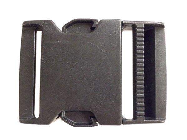Fastex Side Release Buckle - 2 inch - Black