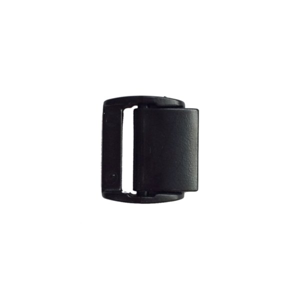 Plastic Cam Buckle Low Profile - 3/4 inch - Black