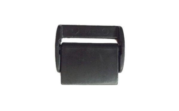 Plastic Cam Buckle Low Profile - 1 inch - Black