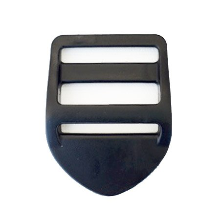 Heavy Acetal Tabler - 1-1/2 inch - Black