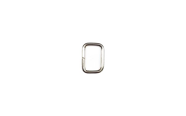 Metal Rectangle - 1/2 inch - Nickel
