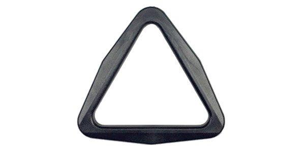 Acetal Tri-Ring - 1 1/2 inch - Black