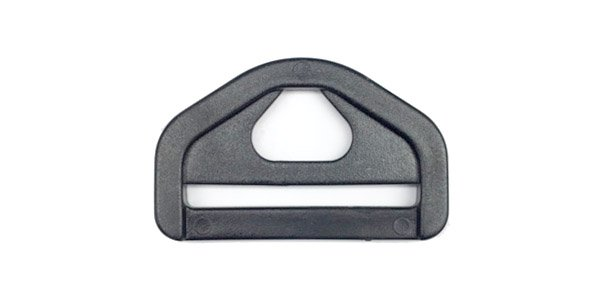 Acetal Web Ring - 1 1/2 inch - Black