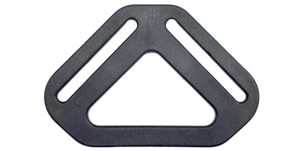 Triangular Strap Divider - 1 1/2 inch - Black