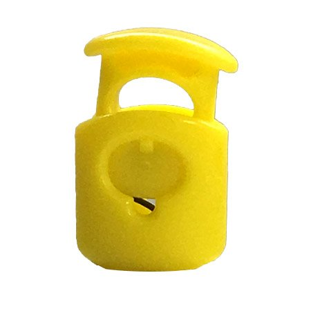 Short Ellipse Toggle - Yellow