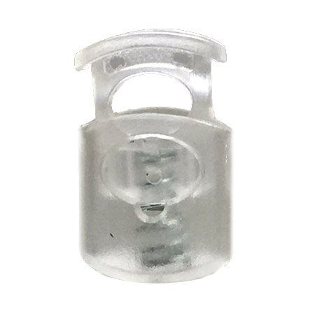 Short Ellipse Toggle - Clear Transparent