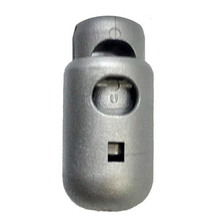 Bullet Cordloc Toggle - Grey