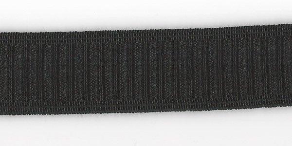 1 inch - Non-Roll Elastic - Black