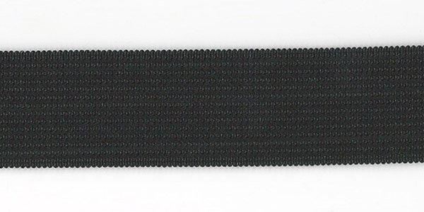 1 inch - Action Elastic - Black