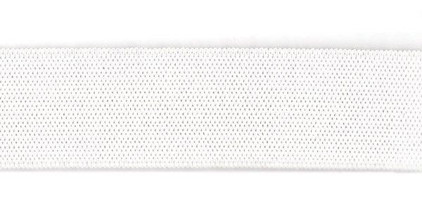 1 inch - Action Elastic - White