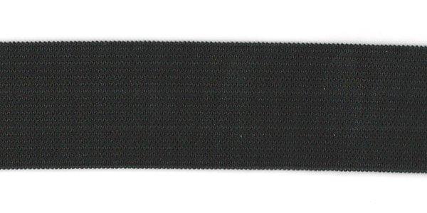 1 1/4 inch - Action Elastic - Black