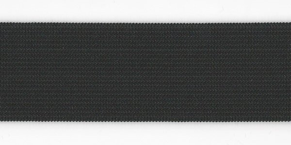 1 1/2 inch - Action Elastic - Black