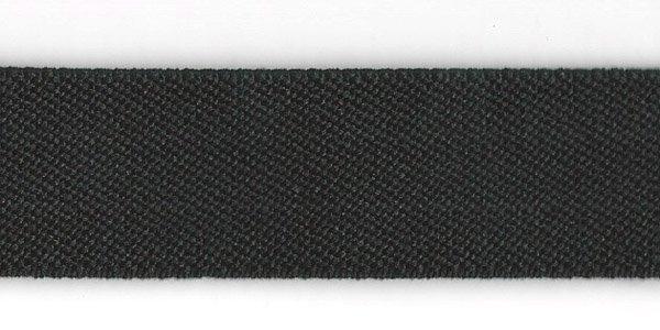 1 Inch - Suspender Elastic - Black