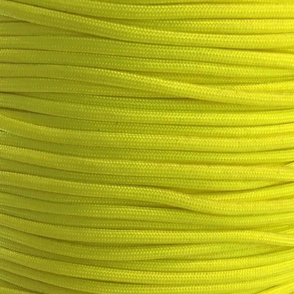 5/32 inch - Nylon ParaCord - Neon Yellow