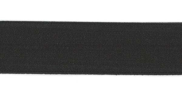 1 inch - Foldover Elastic - Black
