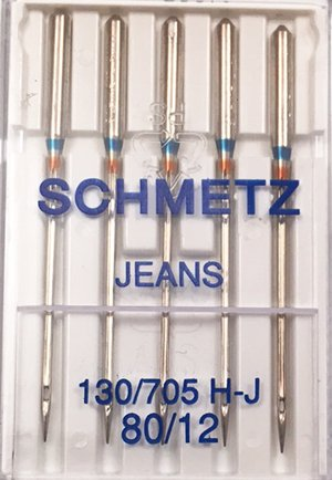 Schmetz Jeans/Denim Needle 80/12