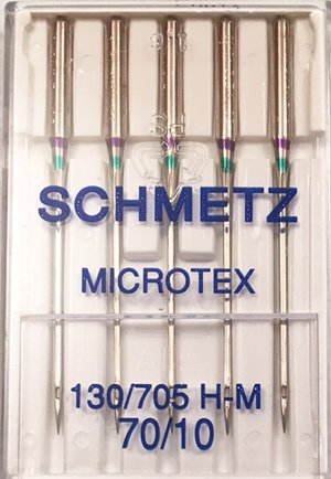 Schmetz Microtex Needle 70/10