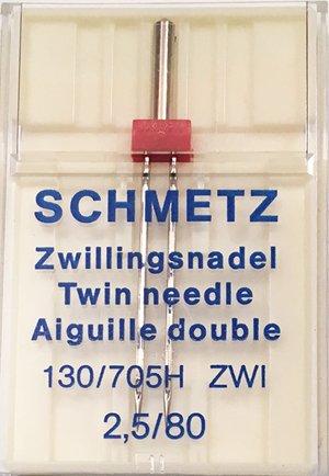 Schmetz Twin Woven Needle 2.5/80