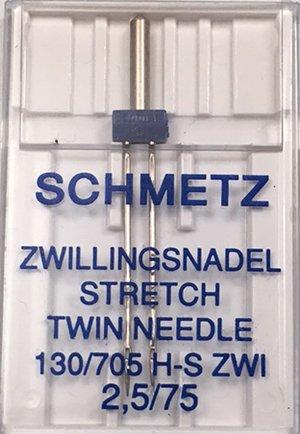 Schmetz Twin Stretch Needle 2.5/75