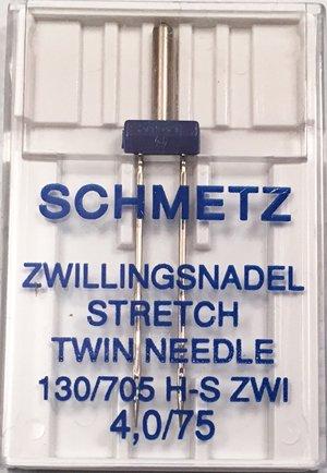 Schmetz Twin Stretch Needle 4.0/75