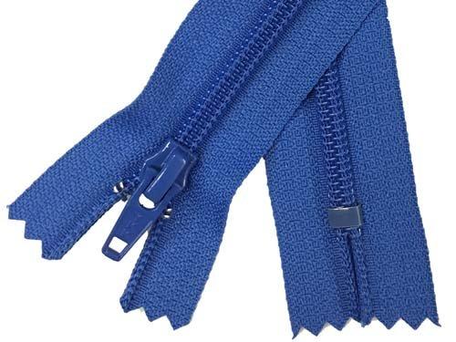 YKK #5 Coil Non-Separating Zipper - 9 inch - Royal