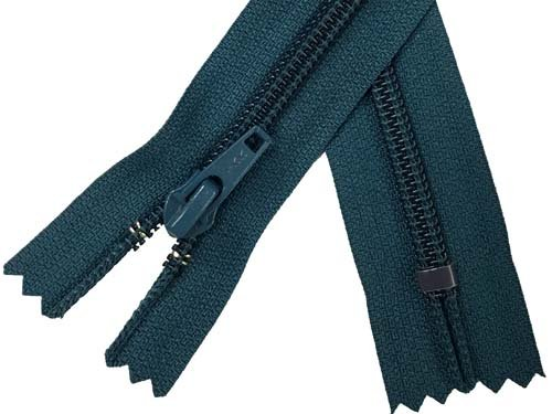 YKK #5 Coil Non-Separating Zipper - 18 inch - Teal