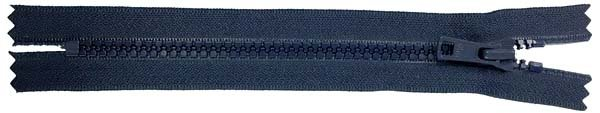 YKK #5 MT Non-Separating Zipper Old & New Style - 18 inch - Navy
