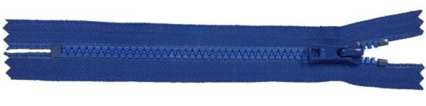 YKK #5 MT Non-Separating Zipper Old & New Style - 18 inch - Royal