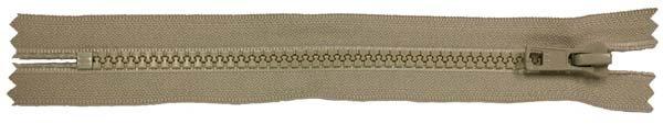 YKK #5 MT Non-Separating Zipper New Style - 9 inch - Tan